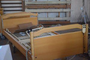 łóżka modułowe przekazane do GOPS -u w Rudniku