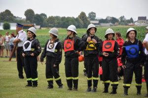 Gminne Zawody Sportowo Pożarnicze w Gamowie