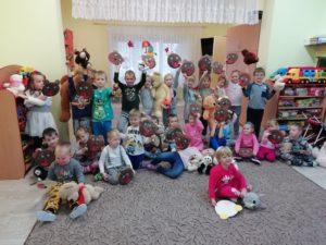 Dzień Pluszowego Misia w Przedszkolu w Grzegorzowicach!
